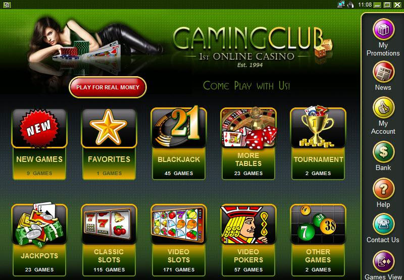 gaming club casino.com