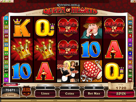 play online casino queen of hearts online spielen