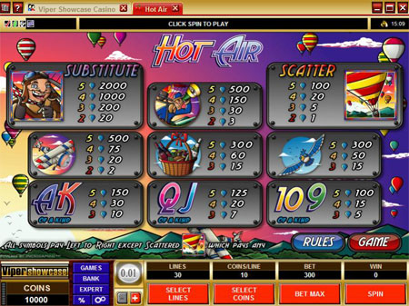 online real casino sizzing hot