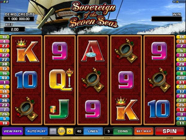 slots seven seas
